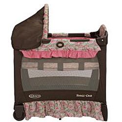 Graco Travel Lite   Cuna, estampado Jacqueline