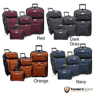 Travel Select by Travelers Choice TS6950 Amsterdam 4 piece Luggage