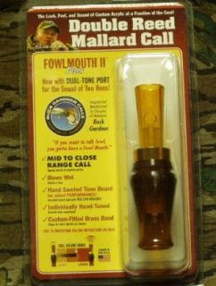 Buck Gardner Fowl Mouth ll Duck Call: Sports & Outdoors
