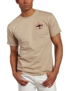 Reyn Spooner Mens Shell Air T Shirt, Sand, Small
