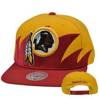 Mitchell And Ness Sta3 Washington Redskins Snapback Hat
