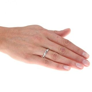 Sterling Silver Diamond Accent I Love You Fashion Ring