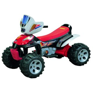 Trail Master Red 6 Volt Battery Operated ATV Ride on