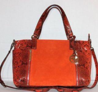 Michael Kors Crosby satchel Persimmon Clothing