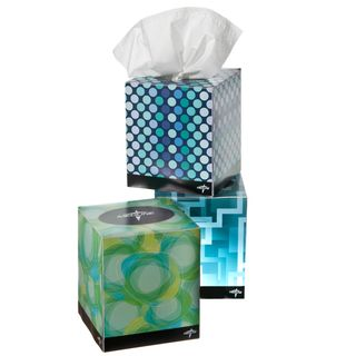 Medline Premium 2 ply Facial Tissue Box (Case of 36)
