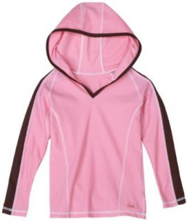 BabyBanz UV Hoodie, Pink/Brown, 5T 6T Clothing