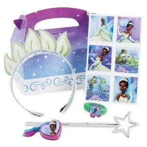 Princess and the Frog Party Favor Kit Clothing