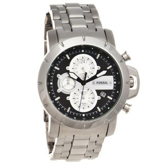 Fossil Mens Stainless Steel Jake Chronograph Watch