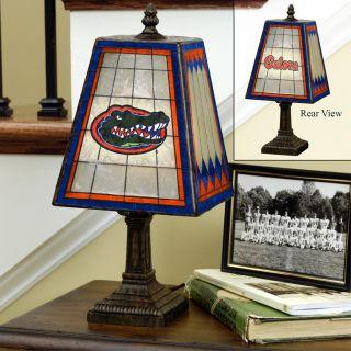 Florida Gators 14 inch Art Glass Lamp