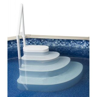 Swim Time Wedding Cake Above ground Pool Step