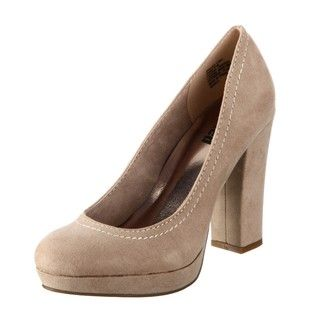 Unlisted by Kenneth Cole Womens Protocall Natural Pumps