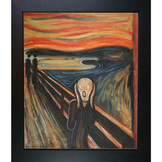 Munch The Scream Canvas Art Oil Painting