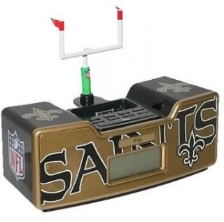 NFL New Orleans Saints Dual Alarm Clock Radio/Ipod Dock
