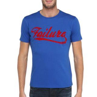 Modèle Failure   Coloris  bleu et rouge. T Shirt 55DSL Homme. Col