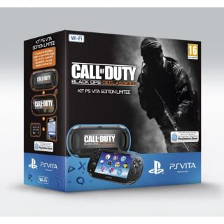 PS VITA Wi Fi+ COD BLACK OPS 2 COLLEC+ CARTE 4Go   Achat / Vente PS