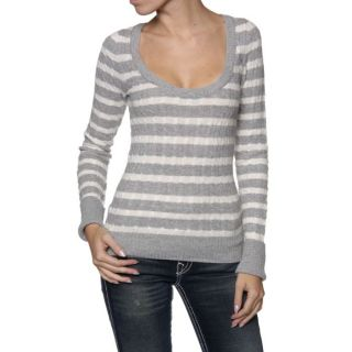 Abercrombie & Fitch Pull ROKSI Gris claire Gris claire   Achat / Vente