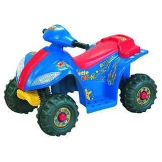 Lil Quad II Blue 6 Volt Battery Operated Ride on
