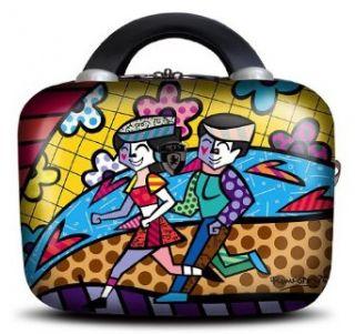 Romero Britto Heys 12 inches Beauty Make Up Travel Case