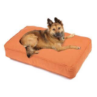 Sweet Dreams Rust Indoor/ Outdoor Corded Sunbrella Fabric Pet Bed