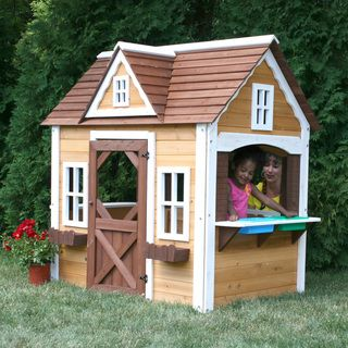 Swing N Slide Craftsman Cottage Play House