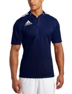 adidas Mens 3 Stripes Climacool Jersey Short Sleeve Top