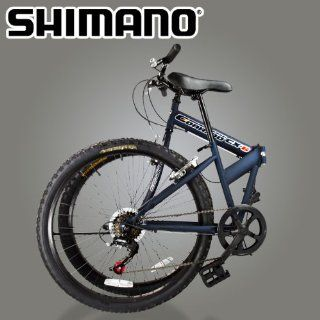New 26 Folding Mountain Bike Foldable Bicycle 6 SP Speed