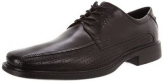 ECCO Mens New Jersey Perf Tie Oxford Shoes