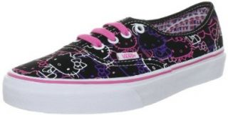 Vans   U Authentic Shoes In Hello Kitty Black/Passion