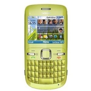NOKIA C3 00 VERT   Achat / Vente TELEPHONE PORTABLE NOKIA C3 00 VERT