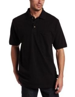 Dickies Mens Short Sleeve Mini Pique Polo With Moisture