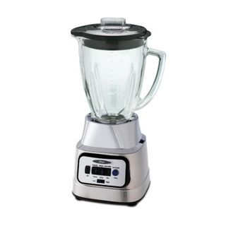 Oster BCBG08 C 6 cup Glass Jar 8 speed Blender with Food Processor