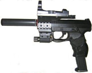 P99 Airsoft Pistol with Laser Site Sports & Outdoors
