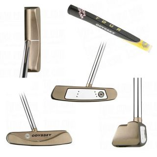 Odyssey Mens White Hot Tour #2 Center Shafted Putter