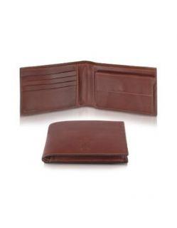 Pineider Power Elegance   Brown Leather Bifold Wallet w