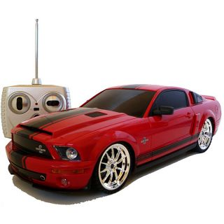 Remote Control 118 scale Red Ford Mustang Cobra