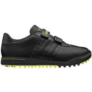Adidas Mens Adicross II Black Leather Golf Shoes