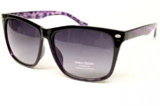 Vintage Retro 80s Wayfarer Sunglasses Mens Womens Black