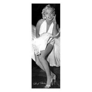 Poster Marilyn Monroe (seven year ich) (53 x 158cm   Achat / Vente