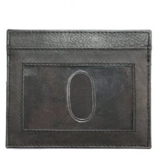 Slim Italian Leather Mens Wallet ID Credit Card Holder