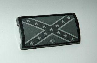 Custom Gun Rail Cover, Confederate Flag: Sports & Outdoors