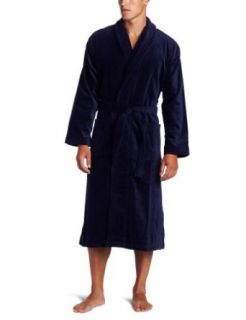 Derek Rose Mens Terry Velour Robe Clothing