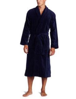 Derek Rose Mens Terry Velour Robe Clothing