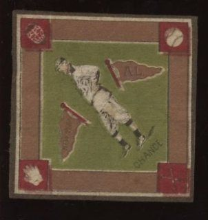 1914 B 18 Baseball Blanket Chance Green Variation   MLB