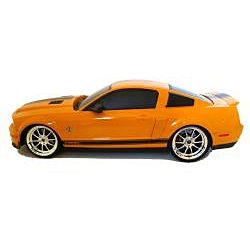 Remote Control 118 scale Orange Ford Mustang Cobra