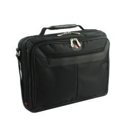 Wenger Swiss Gear 2 piece Black Rolling Laptop Case with Computer Case