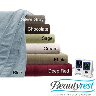 Beautyrest Cozy Plush Twin/ Full size Electric Blanket