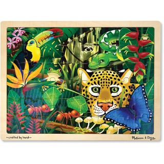 Melissa & Doug 48 piece Rain Forest Jigsaw Puzzle
