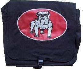 VICTORY RECORDS   Bulldog   Messenger Bag Clothing