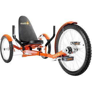 MoboTriton Pro Ultimate 3 wheeled Orange Cruiser
