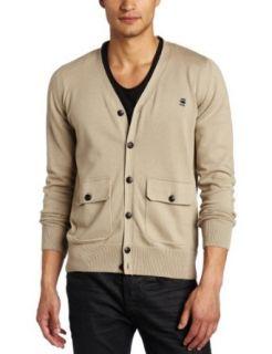 G Star Mens Cl Albert Knit Long Sleeve Cardigan Clothing